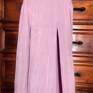 Charlotte Russe Mauve/Blush Maxi Skirt